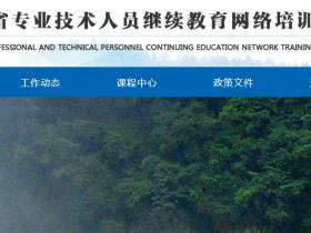 2020年贵州专业技术人员继续教育挂机软件_代学代做