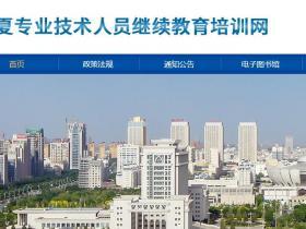 宁夏专业技术人员继续教育平台