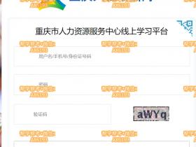 重庆人社培训网挂机软件_重庆专业技术人员继续教育挂机软件